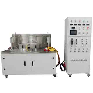 IEC 60331 Wire and Cable Fire Resistance Test and Hammer Test Machine